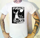 Fugazi Vintage USA Gig Flyer T-Shirt Fugazi Crass Black Flag Hardcore Punk