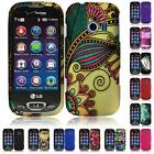 WHOLESALE LOT For LG Extravert 2 VN280 Freedom II 2 UN280 Hard Snap Cover Case