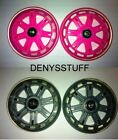 RAZOR RIPSTIK Castor Replacement Wheel Set 76mm colours