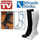 Miracle Socks swelling aching Feet Varicose Veins DVT Flight Travel Pregnancy