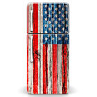 MagicSkins Fridge Wrap Refrigerator Vinyl Skin Decal sticker - 4th July Flag
