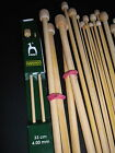 KNITTING NEEDLES ONE OF YOUR CHOICE BAMBOO Cream