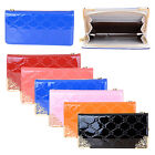 Luxury Bright PU Leather Zipped Wallet Case Cover For iPhone 4 4G 4S 5 5G 5S 5C