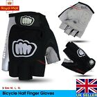 Bike Bicycle Cycling Half Finger Gloves Antiskid GEL Silicone Fingerless Mitts s