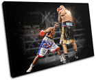 Boxing David Haye Sports SINGLE CANVAS WALL ART Picture Print VA