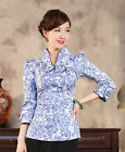 Hot Sale New Style Chinese Tradition Women's Shirt Blouse Tops M L XL XXL 3XL