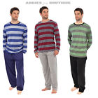Mens Tom Franks Long Sleeve Stripe Pyjamas Pj's Lounge wear Pants S M L XL