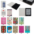 "Cute Color Book PU Leather Flip Folio Case Cover For 6"" Amazon Kindle Paperwhite"