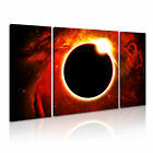 SPACE 3 3B Canvas Framed Printed Wall Art ~ 3 Panels ~ More Size