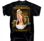 Best Little Moonshine In The Country BLACK Adult T-shirt