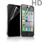 3 PCS LCD Protective Anti-Scratch Film for iPhone 4 iPhone 4S Front & Back