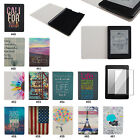 "Colorful Design PU Leather Flip Folio Case Cover For 6"" Amazon Kindle Paperwhite"
