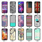 New Colorful Drawing Style Hybrid TPU PC Back Case Cover Skin For 4.7'' iPhone 6