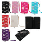 Bling Peals Design PU Leather Wristlet Wallet Case Cover For 5.5'' iPhone 6 Plus