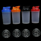 Shaker Mixer Cup Gym Smart Shake Protein Blender Bottle with Mixing Ball 350ML