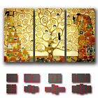 ' Gustav Klimt - The Tree Of Life ' Fine Art Canvas Box  ~ 3 Panels