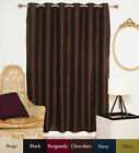"RETURNED ITEM! Wide Antique Brass Grommet Top Blackout Curtain 80"" by 84"" Panel"