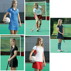 Precision Training Ladies Polo Shirt Mesh Panels Piping