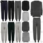 Womens Ladies Fleece Sweat Tracks Tracksuits Jogger Jog Bottoms Pants Plus Size