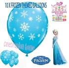 FROZEN SNOWFLAKES & SPARKLES BALLOONS - Air or Helium Quality - Frozen Party