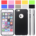 HOT Silicone Bumper Cover Case for iPhone 6/ Plus with Screen Protector 10-color