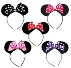 NEW GIRLS LADIES ANIMAL MINNIE MICKEY MOUSE EARS HEAD HAIR ALICE BAND HEN PARTY