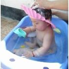 Adjustable Kids Baby Shampoo Cap Bath Bathing Caps Shower Hat Wash Hair Shield