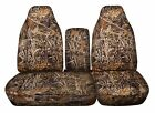 CC Ford F150 Camouflage Cotton CAR Seat Covers. 97-03 F150 Bucket  40-60 bottom
