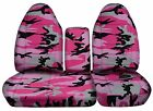CC Ford F150 Camouflage Cotton CAR Seat Covers. 97-03 F150 Bucket