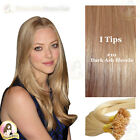 "17"" DIY kit Indian Remy Human Hair I tips/micro beads  Extensions  AAA GRADE #10"