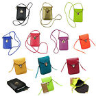 "Rhombus PU Leather Wallet Purse Shoulder Bag Pouch Case Cover For 4""-5.7"" Phone"