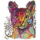 ABYSSINIAN CAT -  NEW DECAL - BEAUTIFUL- T-SHIRT  SIZES M  - 4X