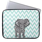 "Elephant Laptop Sleeve Case Bag Cover For 12.5-13.3"" Macbook Air Pro Acer Dell"