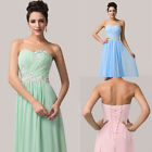Charming Strapless Long Chiffon sequin Ball Gown Evening Prom Formal Party Dress