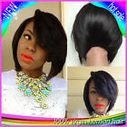 100% Indian remy human hair full lace wigs/lace front wig Short Fashion Style