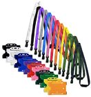 ID Card Pass Badge Holder & ID Soft Neck Lanyard Strap - J-Clip Free P&P