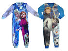 Disney Frozen Pyjamas Fleece Sleepsuit Kids All In One From Primark New Vf Bnwt