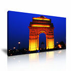 INDIA 3 Cityscape Asia 1-21 Canvas Framed Printed Wall Art ~ More Size