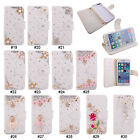 Rhinestone Magnetic PU Leather Wallet Stand Flip Case Cover For iPhone 6/Plus