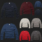 New HOLLISTER By Abercrombie Men Huntington Beach V Neck Sweater ALL Color NWT