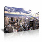NEW YORK CITY Manhattan Skyline Canvas Framed Print ~ More Size