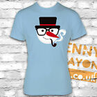 RETRO SNOWMAN WITH GLASSES T-SHIRT - STOCKING FILLER - SECRET SANTA