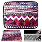 Vintage Laptop Sleeve Case Bag + Mouse Pad+Keyboard Cover For Macbook Pro/Air