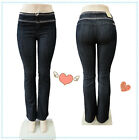 lady High Waist Stretch Boot Cut Skinny New Arrived Fashion Style Women jeans