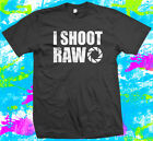I Shoot Raw Photography  - T Shirt - 4 colour options - Small to 3XL - Free Post image