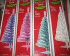 4' Pre-Lit Artificial Christmas Tree 70 Lights 110 Tips White Blue Purple Pink
