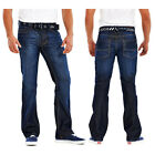 Mens+BootCut+Jeans+Stone+Edge+Brand+Denim+Waist+30%22+to+42%22+Short%2C+Regular%2C+Long
