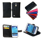 New 6 colors Card Holder Wallet Leather Case Cover For Samsung Galaxy S 4 i9500