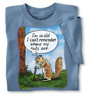 Collections Etc I'm So Old.. Squirrel Nuts Men's Novelty Age Tee