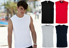 Tank Top Fruit of the Loom Vest Men's 3 Pack Cotton Sleeveless